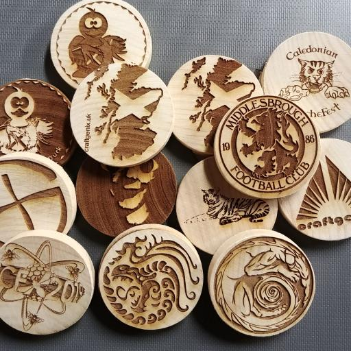 Woodies / Wood Geocoins