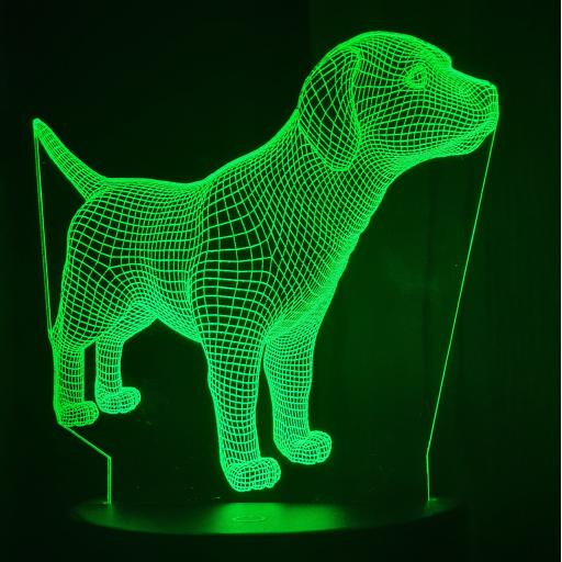 Puppy 3D LED Lamp