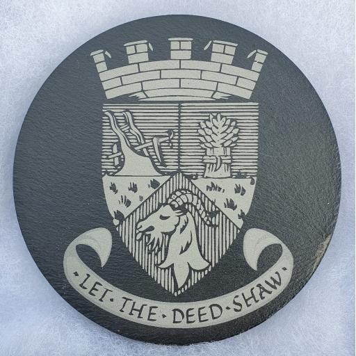 Biggar Town Coat of Arms Coaster
