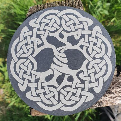 Celtic Tree of Life Coaster