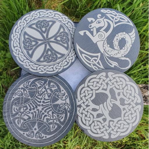 Celtic Coaster Set
